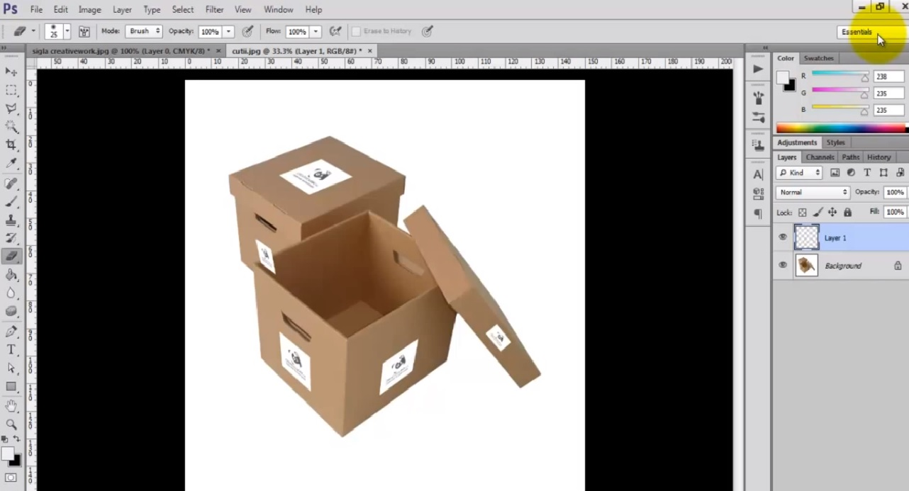 Cum sa personalizezi obiecte cu suprafete in unghiuri diferite