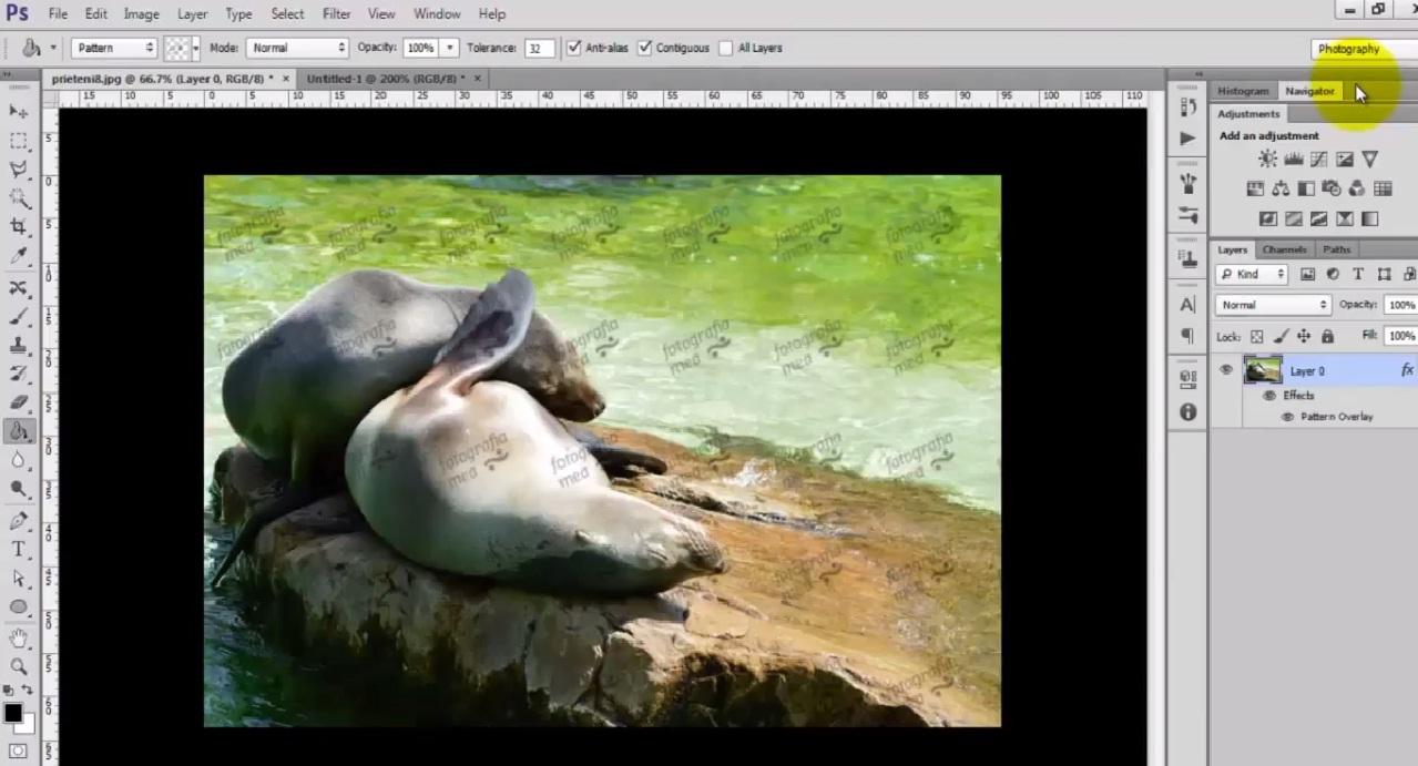 Cum sa pui watermark pe fotografiile tale in Adobe Photoshop CS6