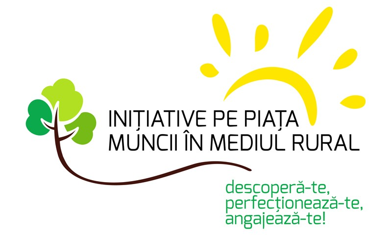 GRAPHIC DESIGN Identitate vizuala – Initiative rurale